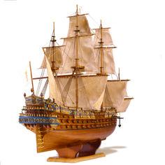 San Felipe scale model ship