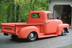 Dad's 49 Chevy Truck another view!