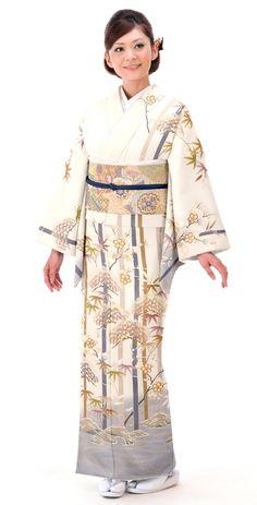 着物:松竹梅   Kimono : Shochikubai - Want to try wearing this someday