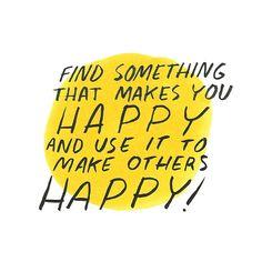 Find something that makes you happy and use it to make others happy! | Geox e Dallas Clayton: intervista con l'illustratore che ispira il mondo ad essere migliore. - Ma Che Davvero?