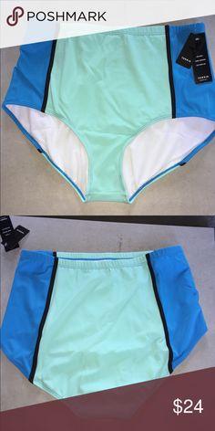 40e42242a2065 Torrid Colorblock High Waist Swim Bottom new Torrid Colorblock High Waist  Swim Bottom Plus new with tags torrid Swim Bikinis