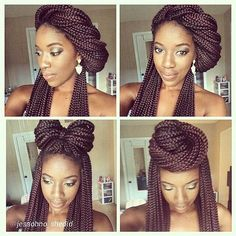 3 Easy and Cute Styles for Box Braids