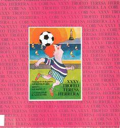 XXXV TROFEO TERESA HERRERA : Flamengo de Río de Janeiro, Real Sporting de Gijón, Oporto F.C., Real Madrid C.F. : La Coruña, 8, 9 y 10 de agosto de 1980. --  [A Coruña : Comisión Organizadora del XXXV Trofeo Teresa Herrera , 1980]. -- 48 p.: il., fot. ; 22 cm. 1. Fútbol-- -Campionatos e competicións-A Coruña-Programas Real Madrid, Baseball Cards, Rio De Janeiro, Port Wine
