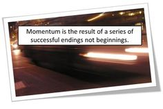 Momentum: What it is and 5 Ways to Get It