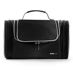 c0a7f0de63 Lavievert Toiletry Bag   Makeup Organizer   Cosmetic Bag   Portable Travel  Kit Organizer   Household