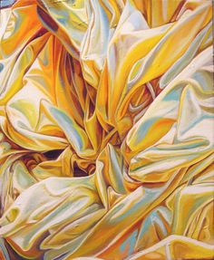"Saatchi Online Artist: Audrey Francis; Oil Painting ""yellowcake"""