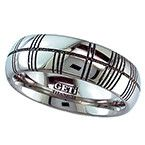 Geti Ogham Inscribed Titanium Ring See our Geti Titanium Rings at http://www.qualitysilver.co.uk/Jewellery/Geti-Rings.html