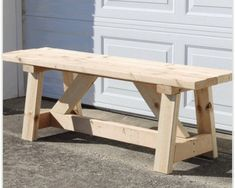 Handmade Wooden Bench/Rustic Bench Customize w/Your Choice of Color : Handmade Wooden Bench Customize w/Your Choice of Color Diy Wooden Projects, Diy Furniture Plans Wood Projects, Woodworking Furniture, Wooden Diy, Handmade Wooden, Woodworking Basics, Fine Woodworking, Etsy Handmade, Furniture Making