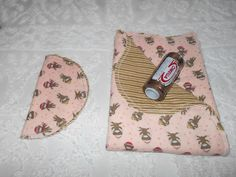 Baby Boy Sock Monkey - Receiving Blanket and Burp Cloth by TheRedGeranium on Etsy