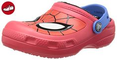 crocs CC Spiderman Lined Clog, Jungen Clogs, Rot (Red 610), 34/35 EU - Crocs schuhe (*Partner-Link)