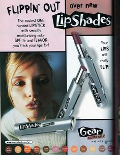 Bonne Bell LipShades (Jane Magazine, September 1999)