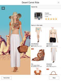 Desert Camel Ride Jet Set 5 star Covet Fashion