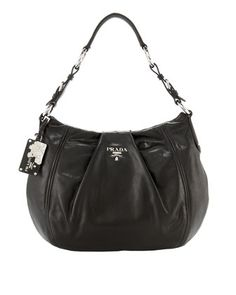 e88c5df2fc68 Large Soft Calf Hobo by Prada at Neiman Marcus. Medium Tote