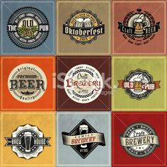 Find Retro Set Styled Label Beer Good stock images in HD and millions of other royalty-free stock photos, illustrations and vectors in the Shutterstock collection. Pub Logo, Beer Images, Old Pub, German Beer, Wedding Logos, Beer Bar, Illustration, Free Vector Art, Vase