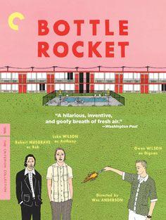 Wes Anderson's Bottle Rocket via www.postercollective.com