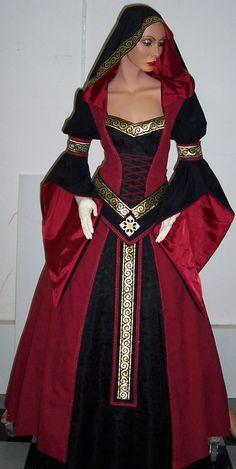 Medieval dress Sarah by Azinovic on DeviantArt - Medieval dress Sarah by Azinovic on DeviantArt Source by - Mode Renaissance, Renaissance Costume, Medieval Costume, Renaissance Clothing, Medieval Fashion, Vintage Dresses, Vintage Outfits, Medieval Gown, Haute Couture Fashion
