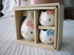 hello kitty sake set