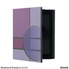 Mondrian & Dreams Etui Fürs iPad Piet Mondrian, Lockers, Locker Storage, Furniture, Home Decor, Constructivism, Welcome Home, Book Binding, Ipad Sleeve