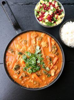 Indisk kyllingpanne på 25 minutt - LINDASTUHAUG