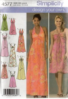 Simplicity 4577 Design Your Own Evening by HeavenztoBetsyDesign