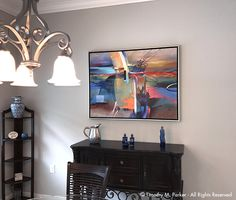 Large Custom Embellished Print - Naples FL