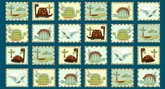 Dino-riffic Blocks 3407-76 Dino-riffic by Swizzle Stick Studio Studio E Quilting Fabric $10.95 per yard