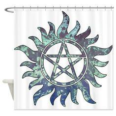 Supernatural Symbol Shower Curtain