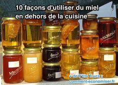 Voici quelques astuces santé/beauté à base de miel qui pourraient vous intéresser et vous donner une bonne excuse pour acheter du miel.  Découvrez l'astuce ici : http://www.comment-economiser.fr/utilisation-miel-hors-cuisine-beaute.html?utm_content=buffer742e2&utm_medium=social&utm_source=pinterest.com&utm_campaign=buffer