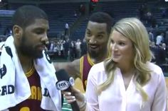J.R. Smith is elevating the local TV reporter videobomb to high art