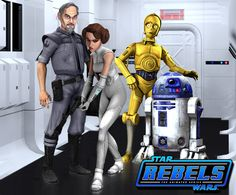 Keeping up with The Organas - (Rebels Fan Art) by Brian-Snook.deviantart.com on @DeviantArt