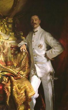 Portrait of Sir Frank Swettenham, 1904 by John Singer Sargent (American 1856-1925)