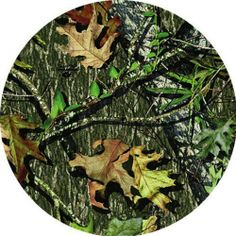 Mossy Oak Camo,Car Coaster Set of 2,Ceramic,2.6x2.6x0.25 Inches by Cypress Home. $4.49. Save 33% Off!