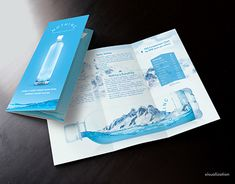 The world's purest water brochure design Water Branding, Brochure Design, Shower Heads, Working On Myself, New Work, Packaging Design, Pure Products, World, Creative