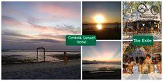 Sunset Atardecer GILI TRAWANGAN Ombak Sunset Hotel The Exile