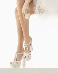 Zapato de Rosa Clará (91Z23), categoría novia