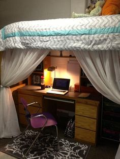 cute dorm setup!!
