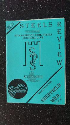 STOCKSBRIDGE PARK STEELS V SHEFFIELD WEDNESDAY 1996-97