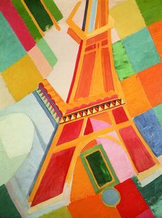 "Robert Delaunay:   ""Tour Eiffel"""