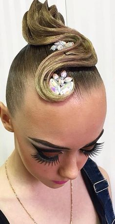 Loving This #Ballroom Hairstyle! http://www.dancingfeeling.com/