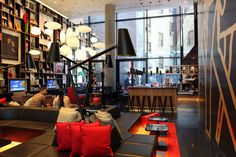 CitizenM Times Square Hotel - Cool Hunting