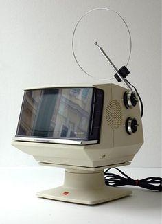Sharp Videosphere Weltron desk television
