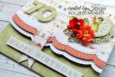 Craft and You Design: A Birthday envelope-card/Urodzinowa kopertówka