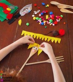 Green Crafts For Kids, Summer Camp Crafts, Cute Kids Crafts, Crafts For Kids To Make, Camping Crafts, Crafts For Teens, Art For Kids, Diy And Crafts, Daycare Crafts