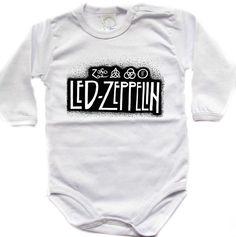 Baby bodysuit LED ZEPPELIN 3 rock  funk  hard rock by CuteeeBaby, $10.99