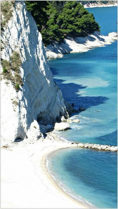 Spiaggia Delle Due Sorelle, Sirolo, Le Marche, Italy. Stunning, and relatively unknown by tourists.