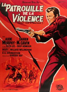 bullet badman audie murphy original lobby