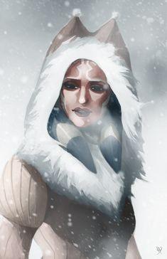 Winter Ahsoka by thefenrir.deviantart.com on @deviantART