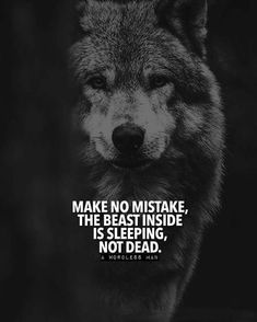 Wolf is one of the most respected and fearful animals. Whether it's The Wolf of Wall Street, Teen Wolf or wolf in general, enjoy Wolf Quotes to pump you up. Wisdom Quotes, True Quotes, Great Quotes, Motivational Quotes, Inspirational Quotes, Peace Quotes, Quotes Quotes, Lone Wolf Quotes, Wolf Qoutes