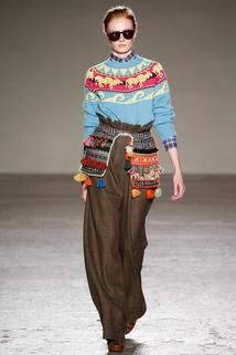 Mailand Fashion Week: Stella Jean... Ethno look