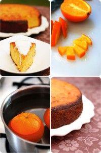 prajitura cu portocala montaj